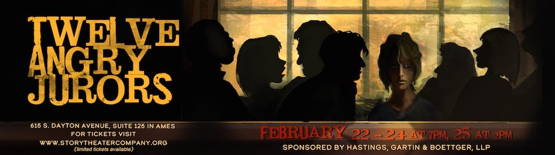 Story Theater Company Presents Twelve Angry Jurors