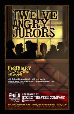 Twelve Angry Jurors poster
