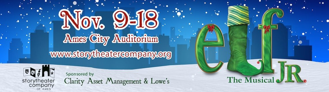 Story Theater Company Presents Elf The Musical JR.