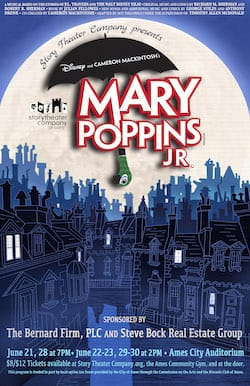 Mary Poppins, Jr poster