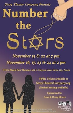 Number the Stars poster