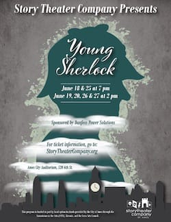 Young Sherlock poster